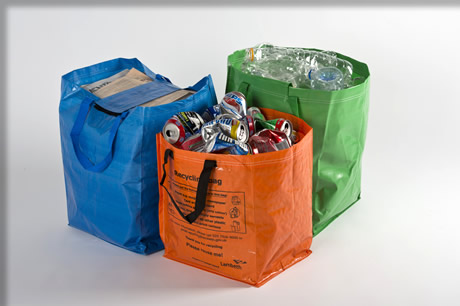 Laminated Recycling Bags
