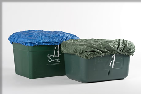 Recycling Box Covers and Recycling Lids